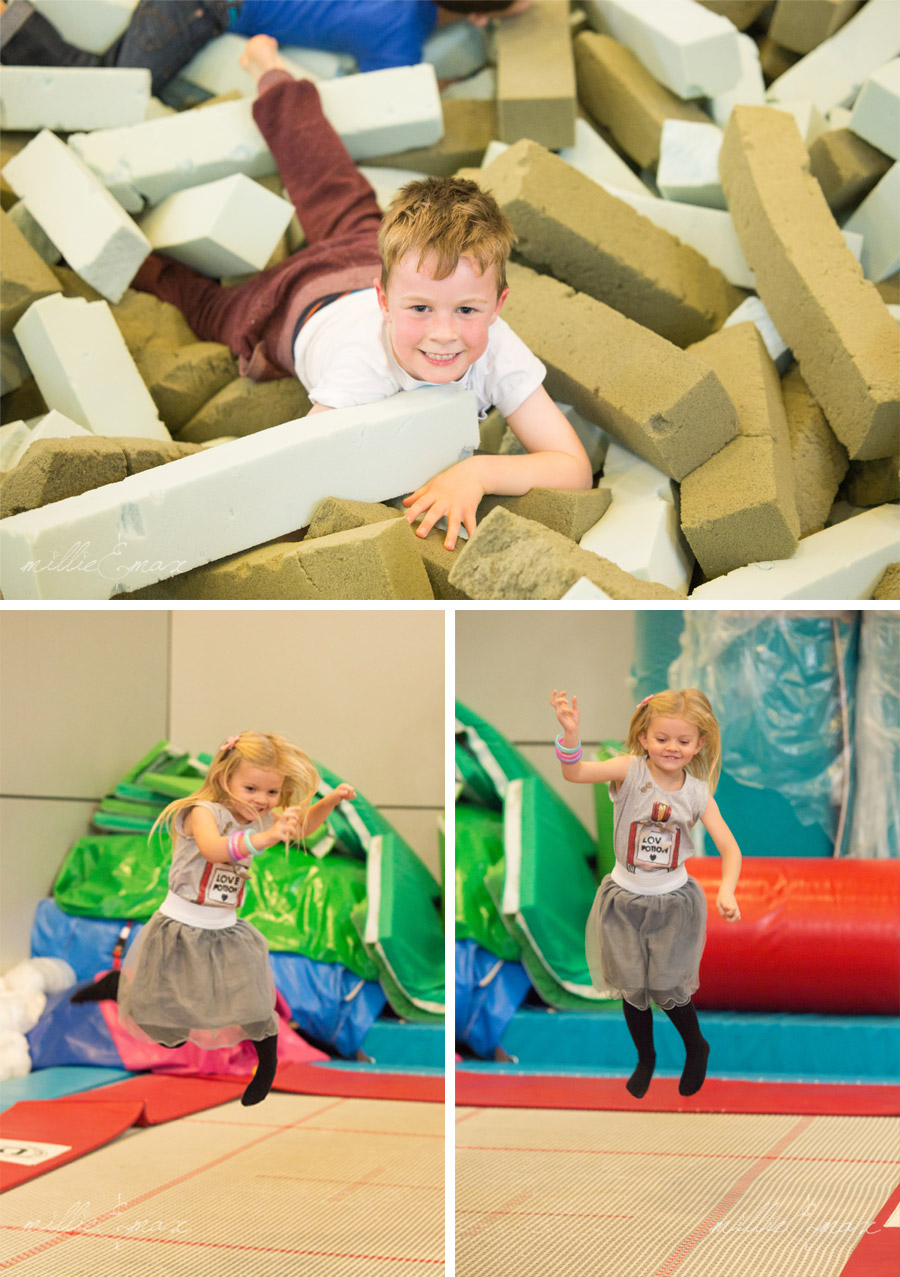 Birthday Celebrations, Party and Event Photography by Millie and Max Photography in Horsham Pavilions Gymnastic Centre, West Sussex