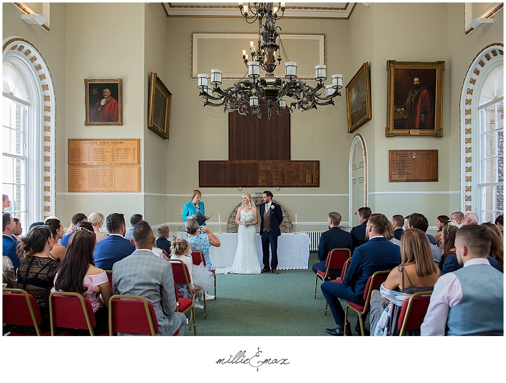 Arundel-Town-Hall-Five-Oaks-Events-Wedding-Photography-by-Millie-and-Max-Photography-Horsham